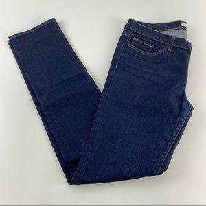 J Brand Dark Wash Straight Leg Jean